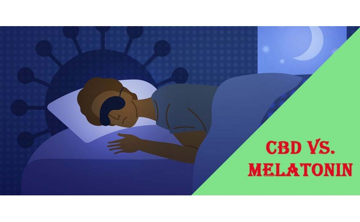 CBD vs. Melatonin
