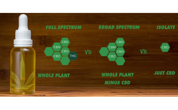 Full Spectrum vs Broad Spectrum vs CBD isolate