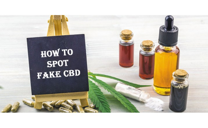 How To Spot Fake CBD